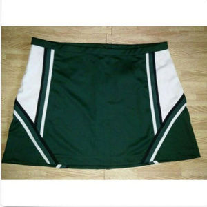 NEW PLUS SIZE GREEN CHEERLEADER UNIFORM SKIRT